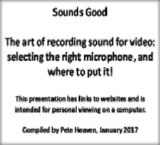 BFVS Sounds Good presentation v33.pps
