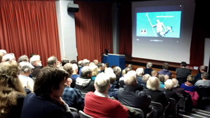 84 people turned up to watch Bristol Revisited and Bristol Through a Lens