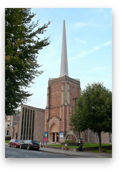 All Saints Church in Pembroke Road, Clifton